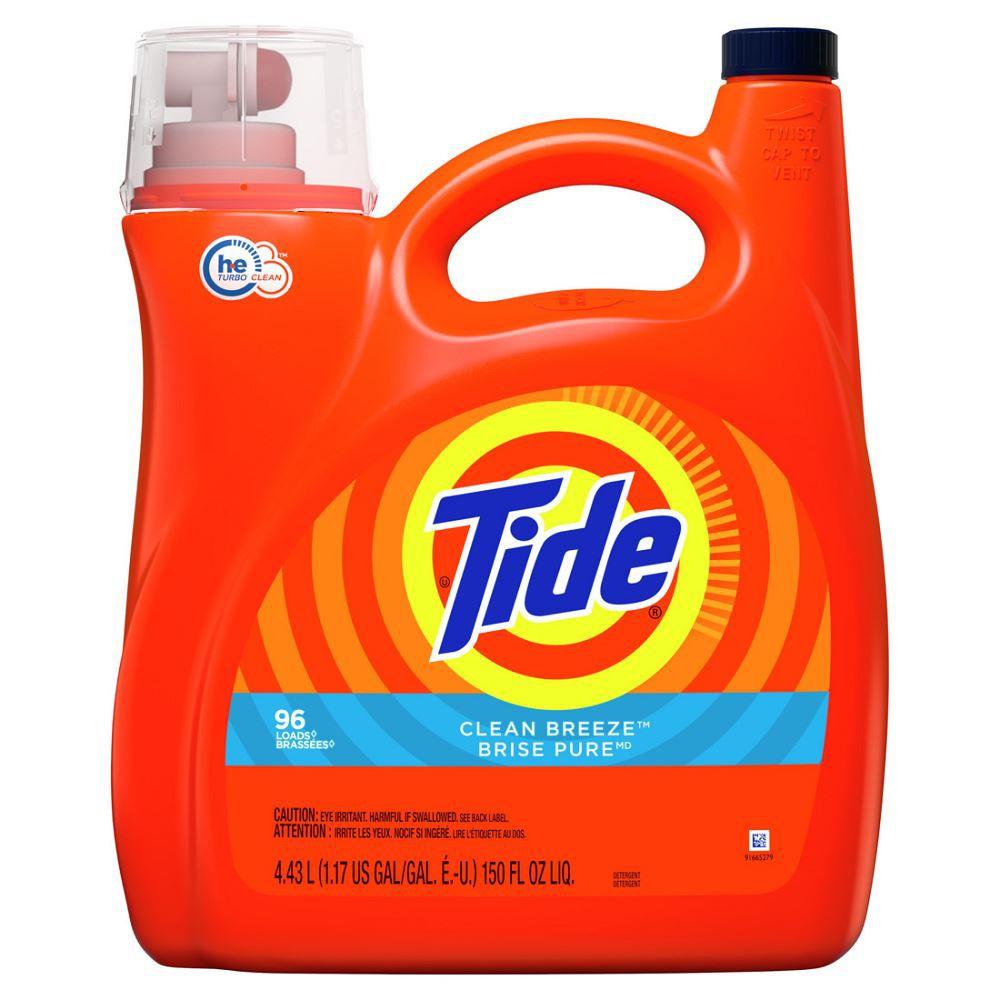 Detergente líquido para ropa Clean Breeze