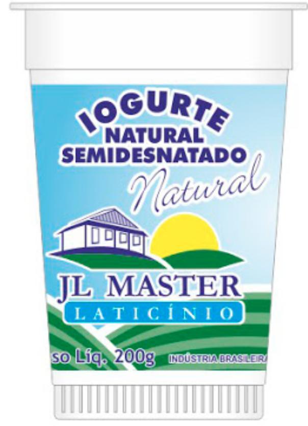 Iogurte natural semidesnatado