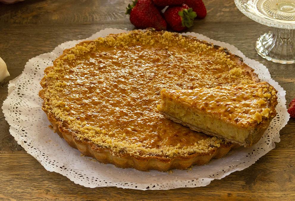 Kuchen de nuez pequeño