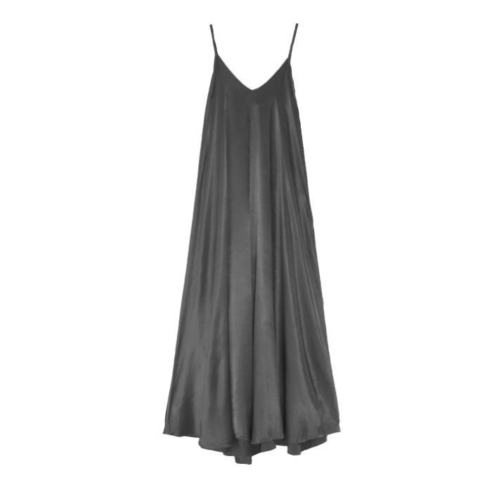Vestido Lourdes gris oscuro 1