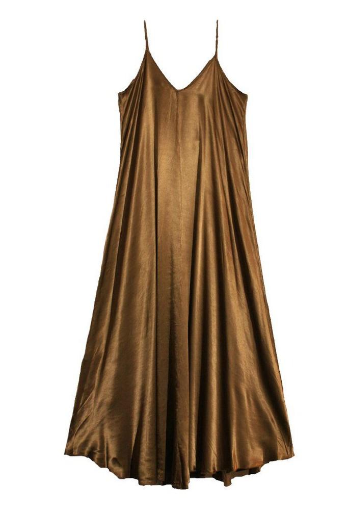 Vestido Lourdes bronce 1