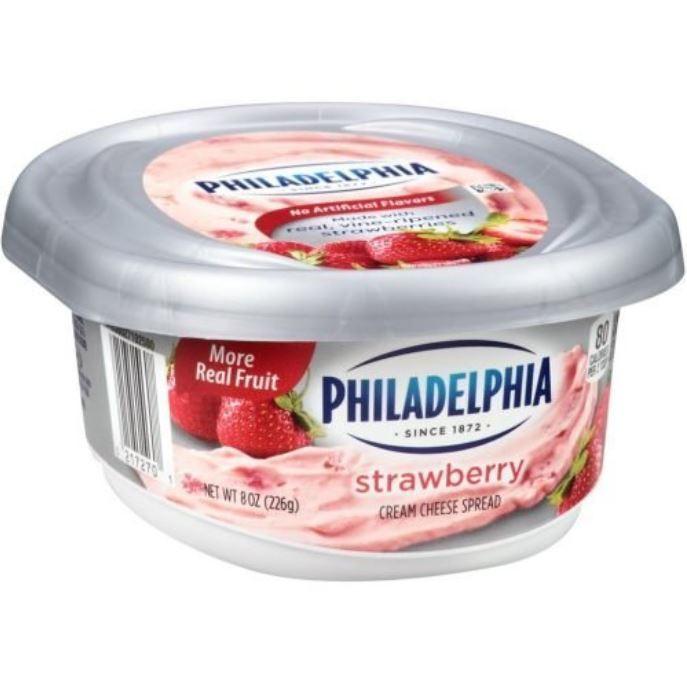 Queso crema fresa