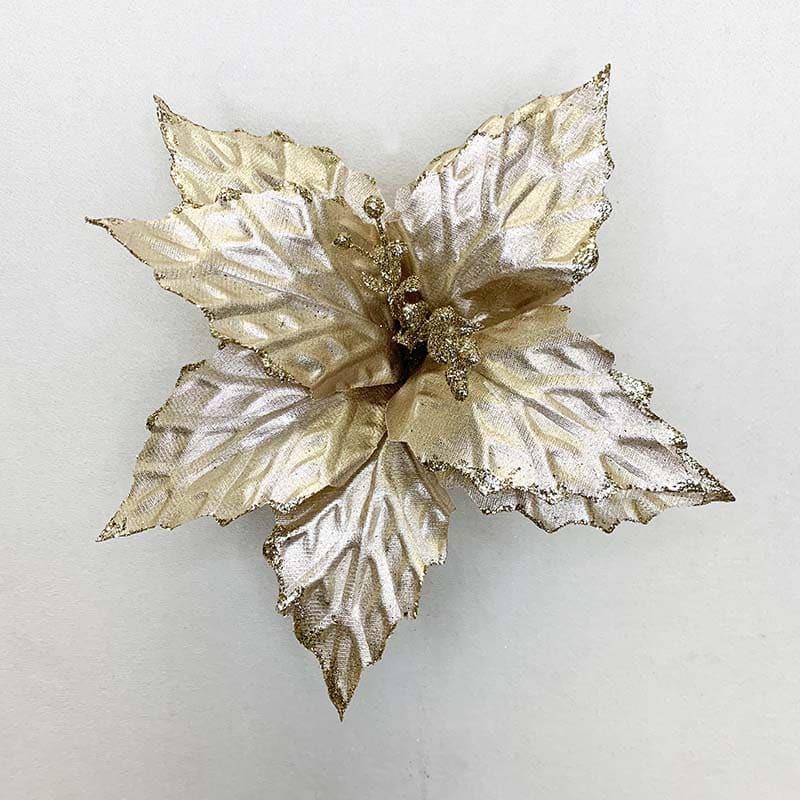 Poinsettia cahmapaña 33 X 27 CM