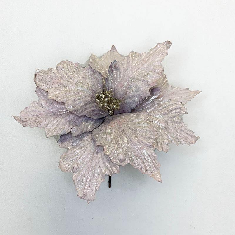 Poinsettia mora 33 X 28 CM