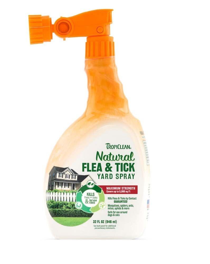 Tropiclean flea/tick yard spray 32oz Tropiclean UN ...