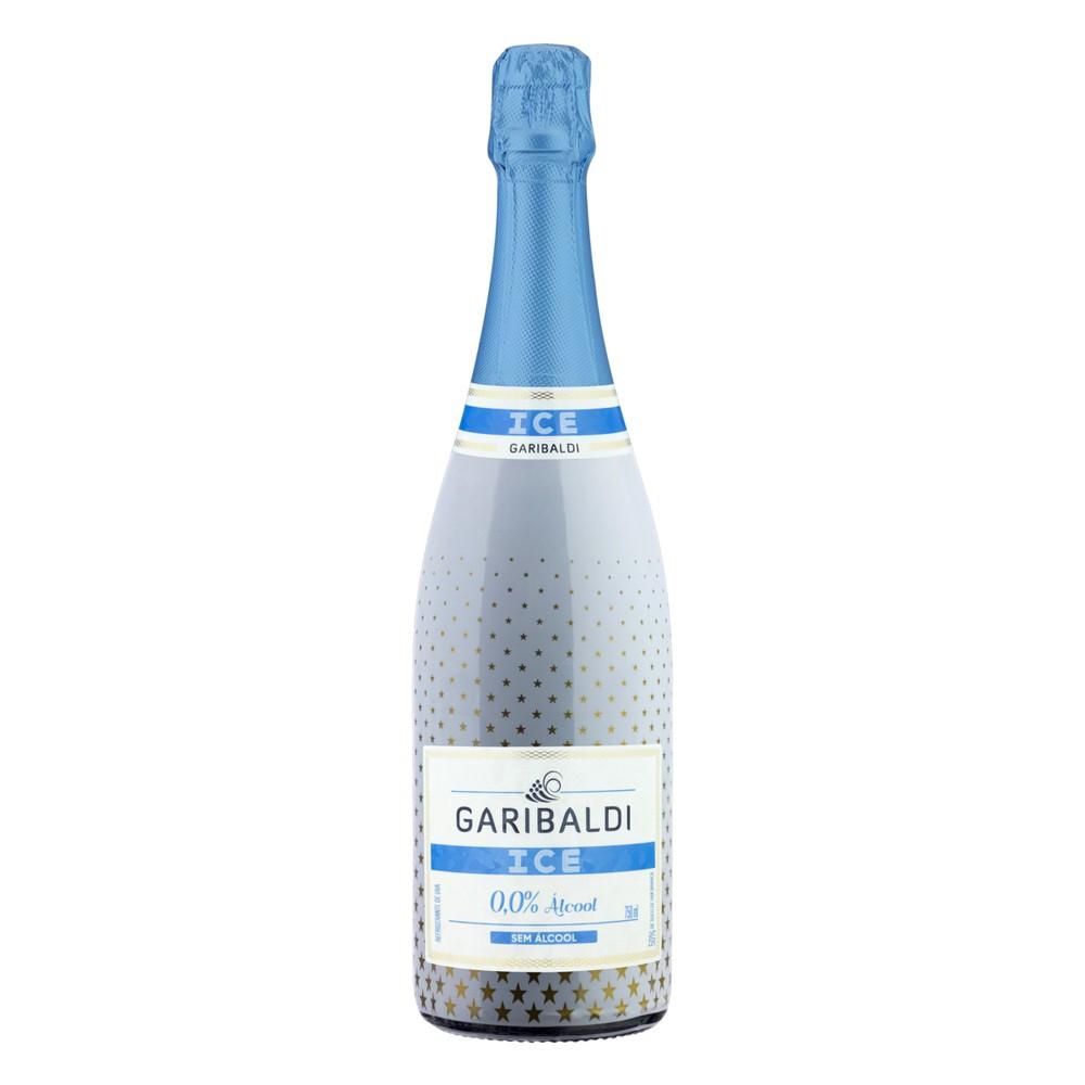 Espumantes ice zero álcool