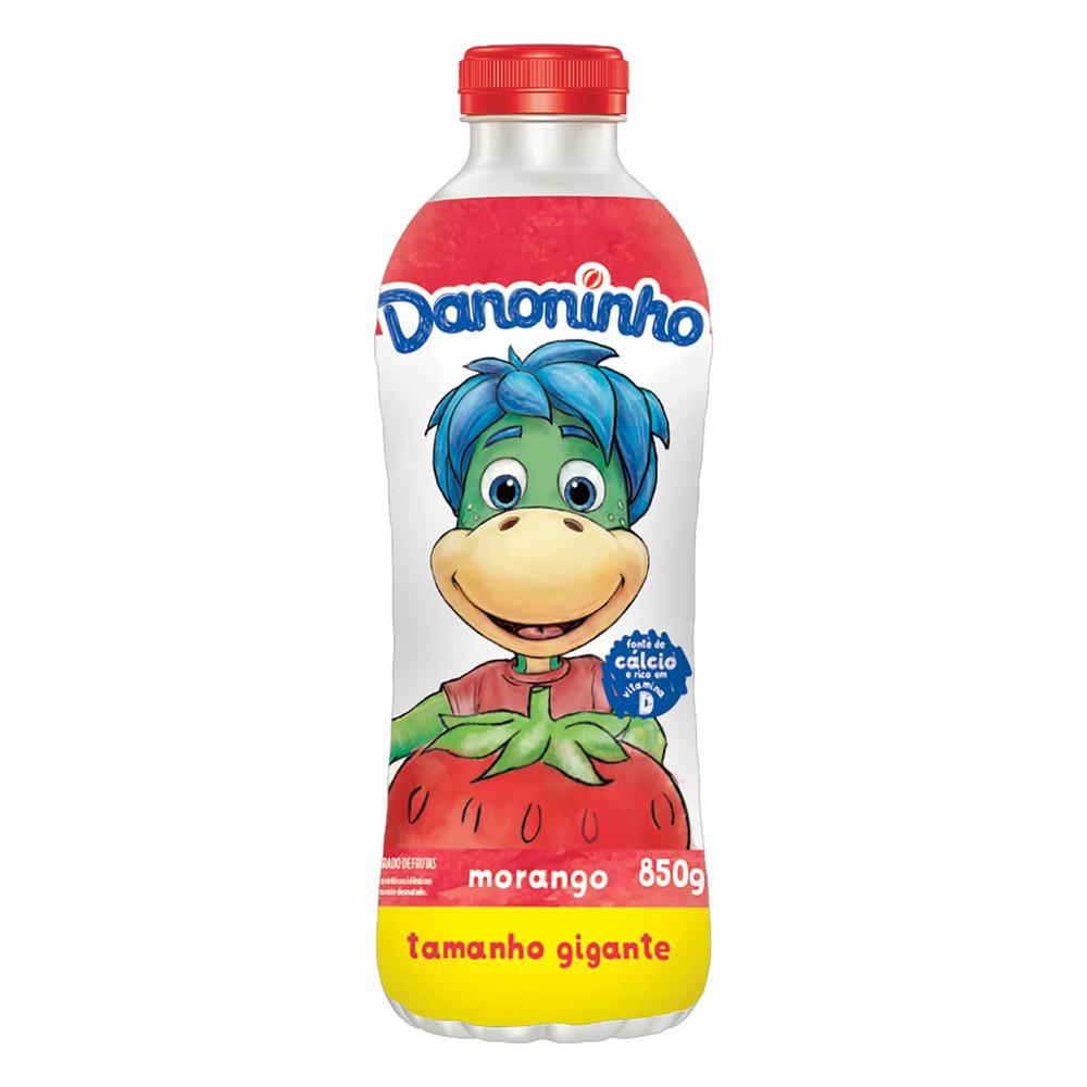 Iogurte líquido sabor morango Danoninho