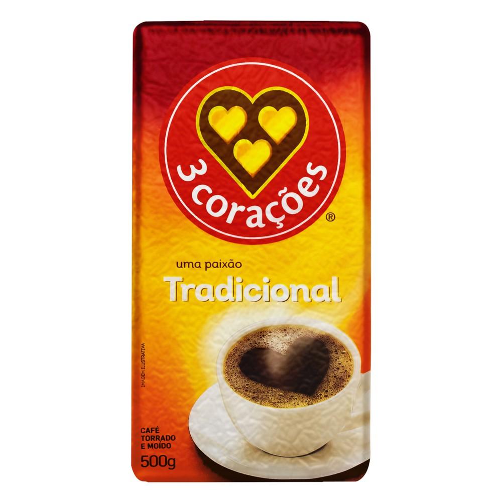 Café torrado e moído tradicional