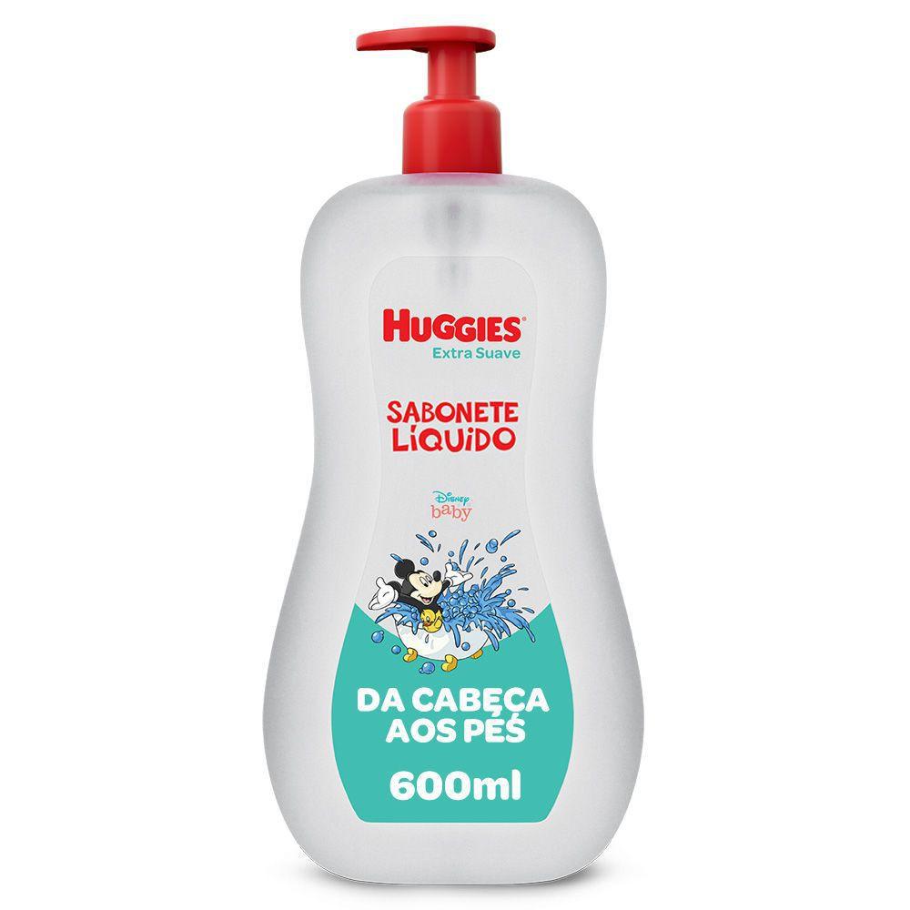 Sabonete líquido extra suave