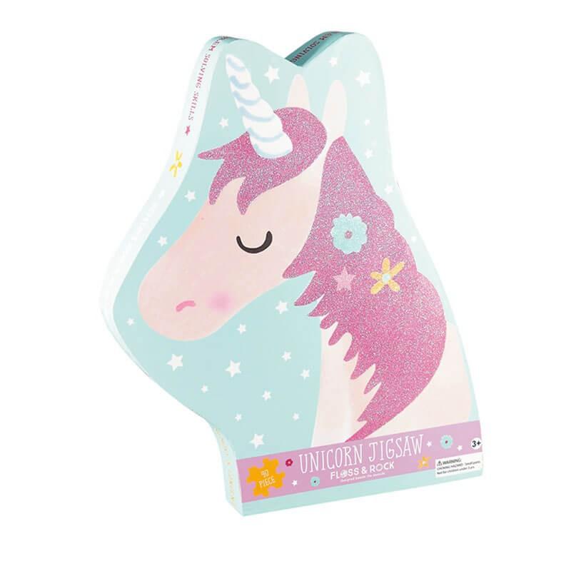 Puzzle 40 piezas - unicornio