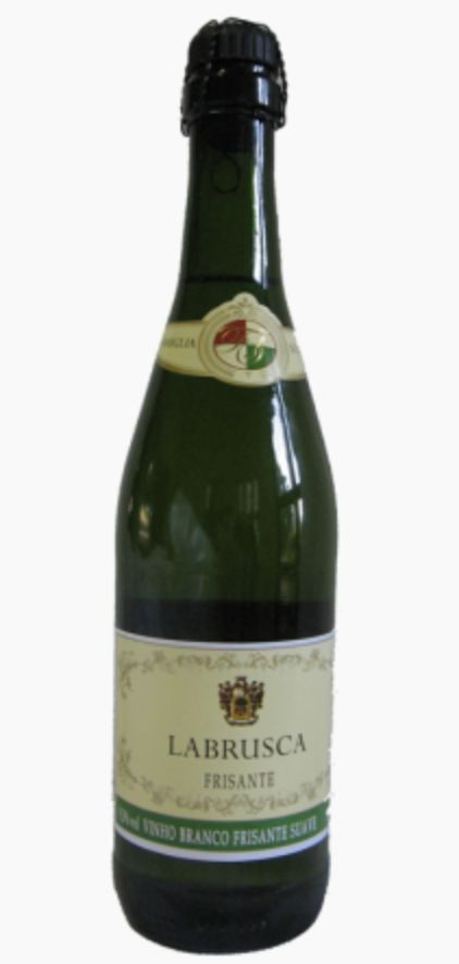 Vinho branco frisante Labrusca