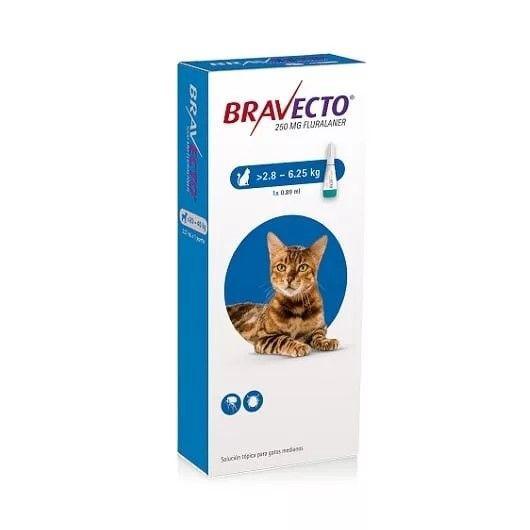 Tratamiento contra pulgas gatos 6.25 a 12.5 kg
