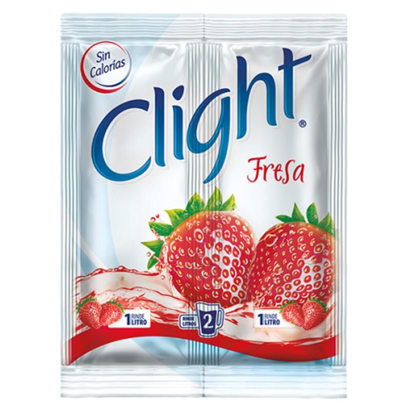 Bebida en polvo sabor a fresa