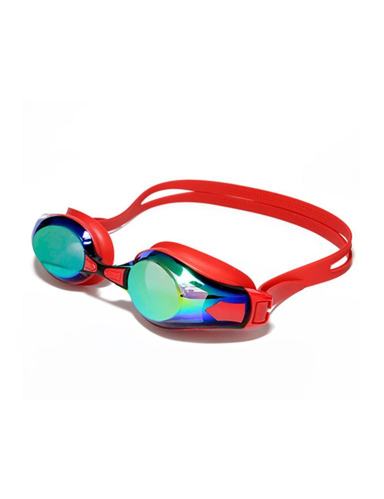 Lentes de natación espejados rojo