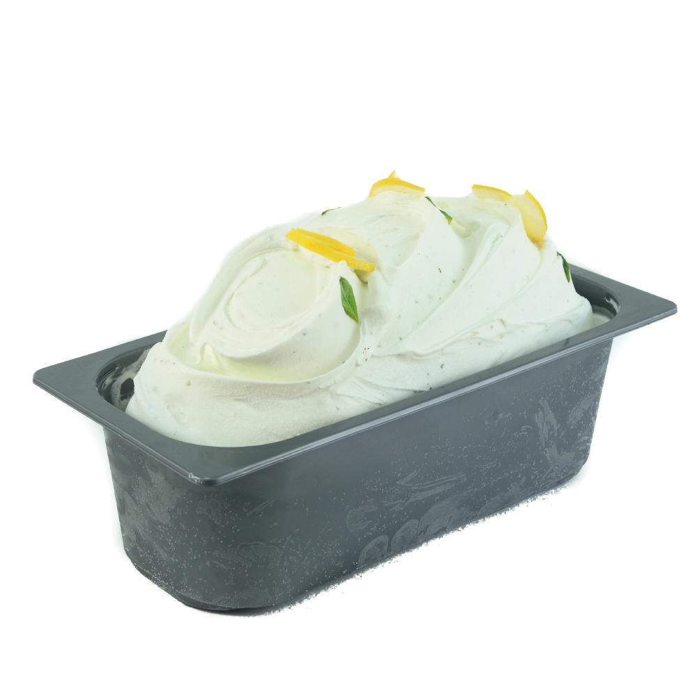 Helado limón albahaca medio litro