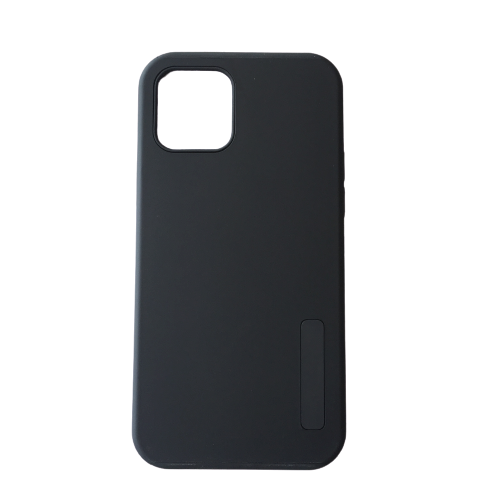 Case Dual Negro iPhone 12 Pro Max 1 Carcasa