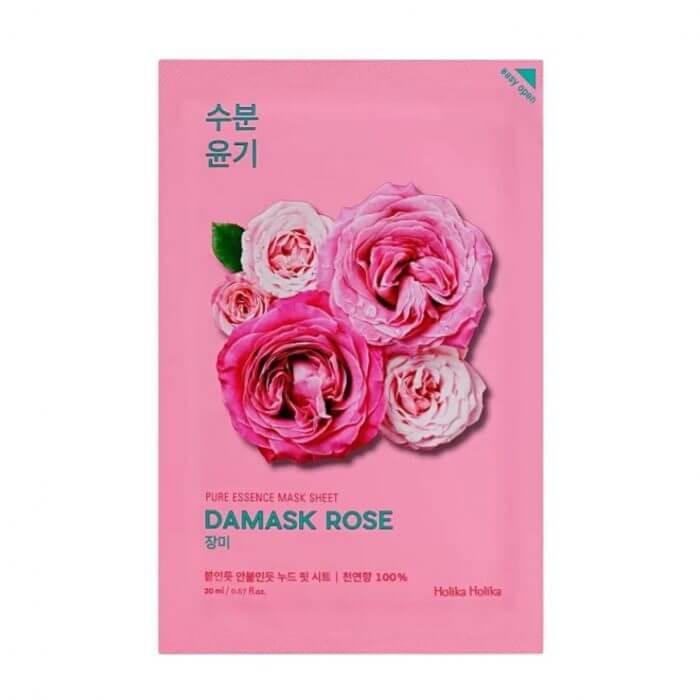 Pure essence mask - rosa damascen 1 Mascarilla