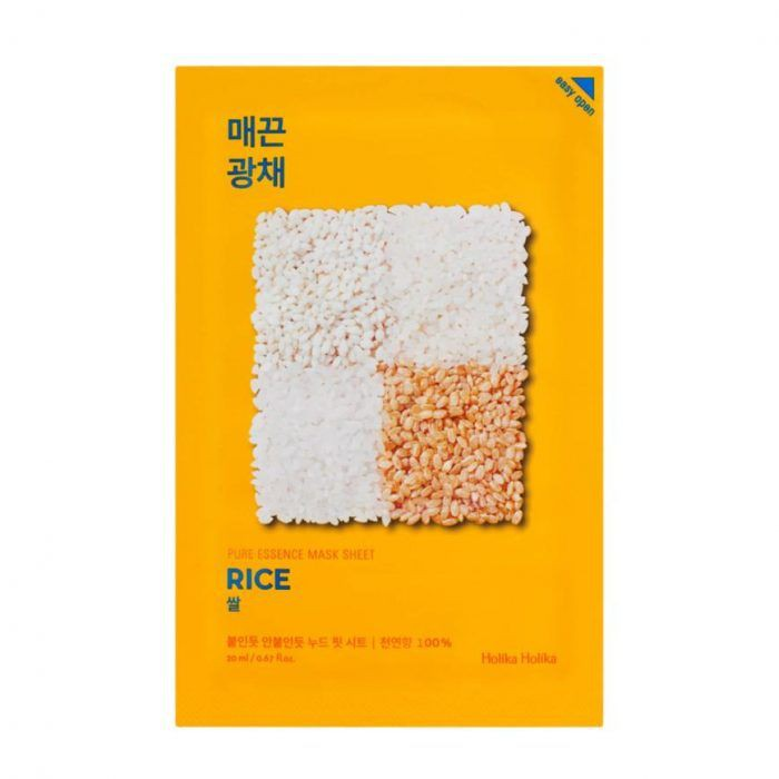 Pure essence mask - arroz 1 Mascarilla