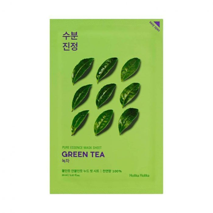 Pure essence mask - té verde 1 Mascarilla