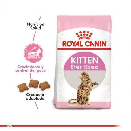 Alimento kitten sterilised Bolsa 4 kg