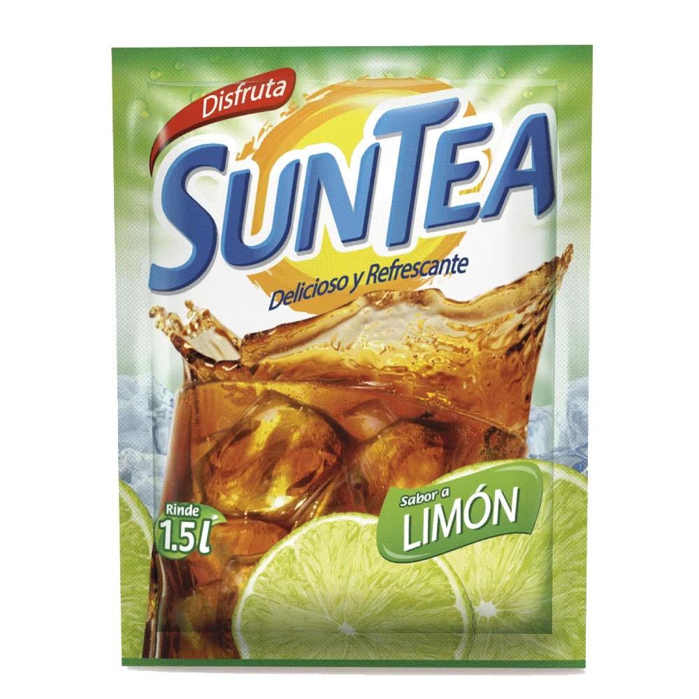Té en polvo sabor limón