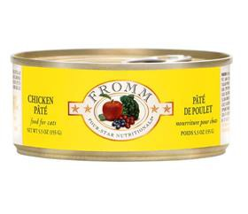 Fromm chicken pate cat food can 12 - 5.5 Oz