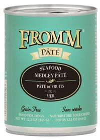 Fromm seafood medley pate dog food can 12 - 12.2 Oz