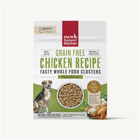 The honest kitchen whole food clusters grain free chicken 16oz