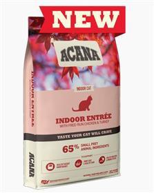 Indoor entree cat food 10 Lbs