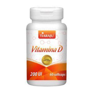 Vitamina d 60caps softgel Embalagem de 2000UI