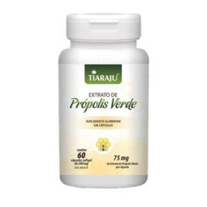Própolis verde softgel Embalagem de 75 mg