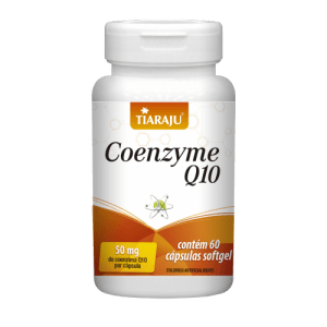 Coenzyme q10 60caps softgel Embalagem de 50mg