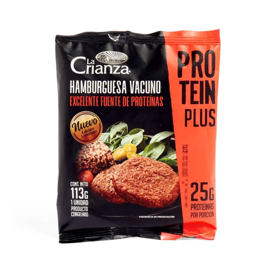 Hamburguesa protein plus