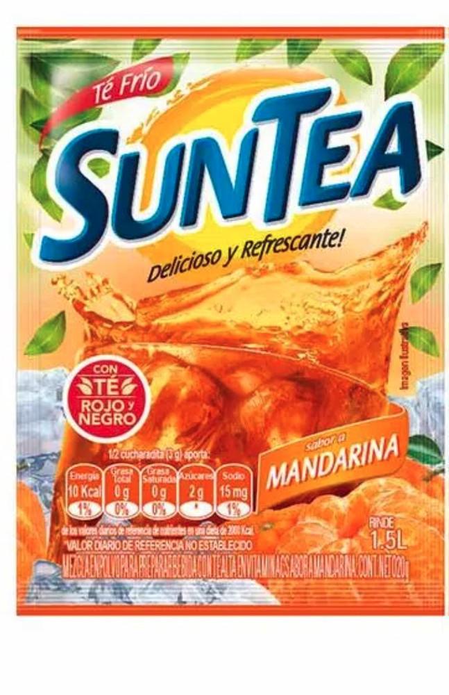 Bebida en polvo sabor mandarina