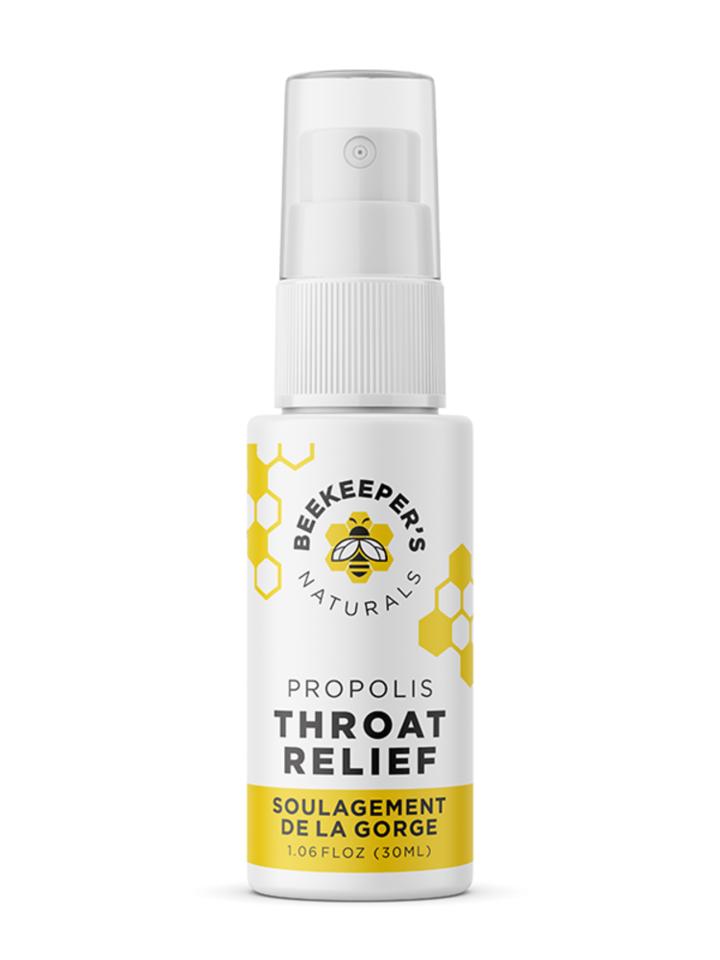 Beekeeper's propolis throat spray