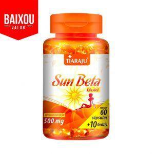 Sun beta gold 70caps Emabalagem de 500mg
