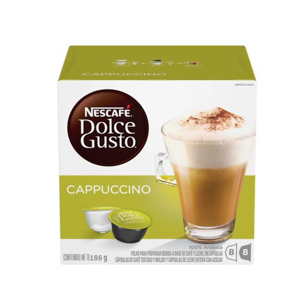 Cápsulas de café sabor cappuccino