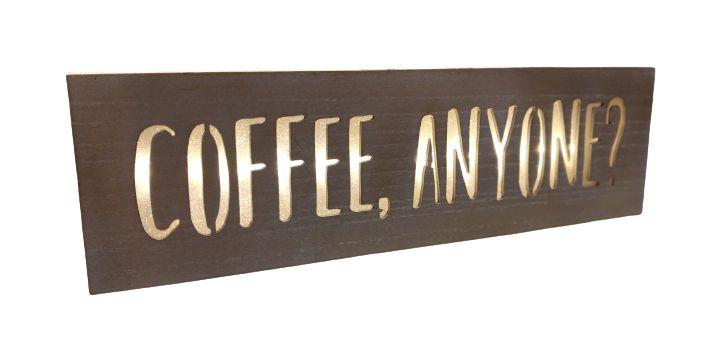 Luminária led coffe 1 unidade