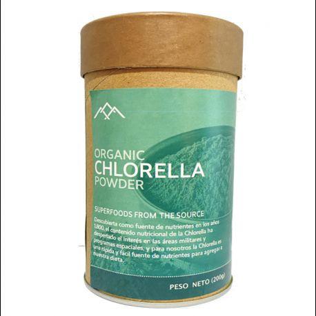 Chlorella orgánica Envase 200gr