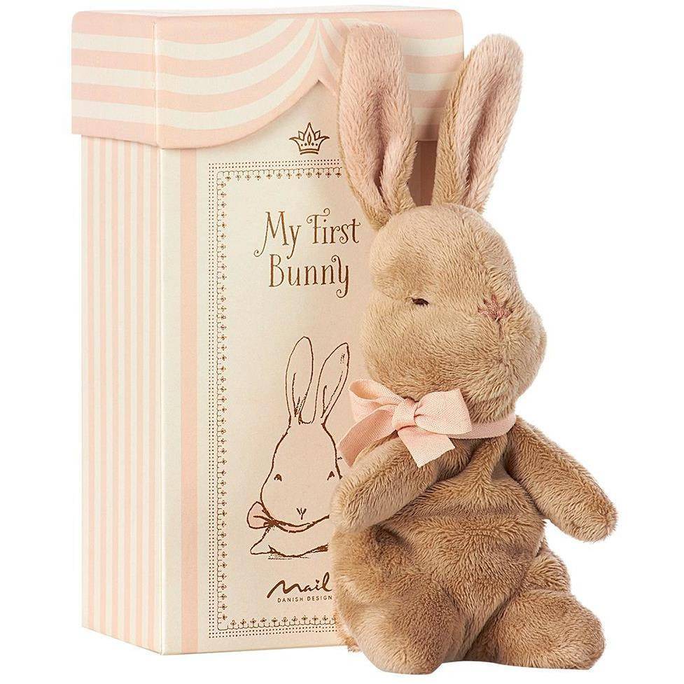 Maileg - my first bunny in box, rose 7.48 in