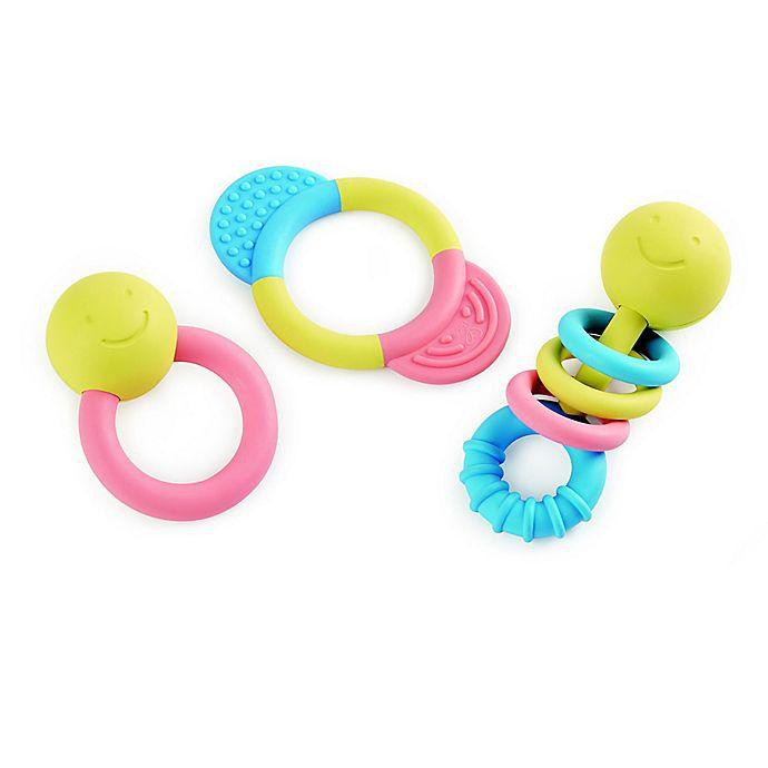 Hape - rattle and teether collection 1 pc