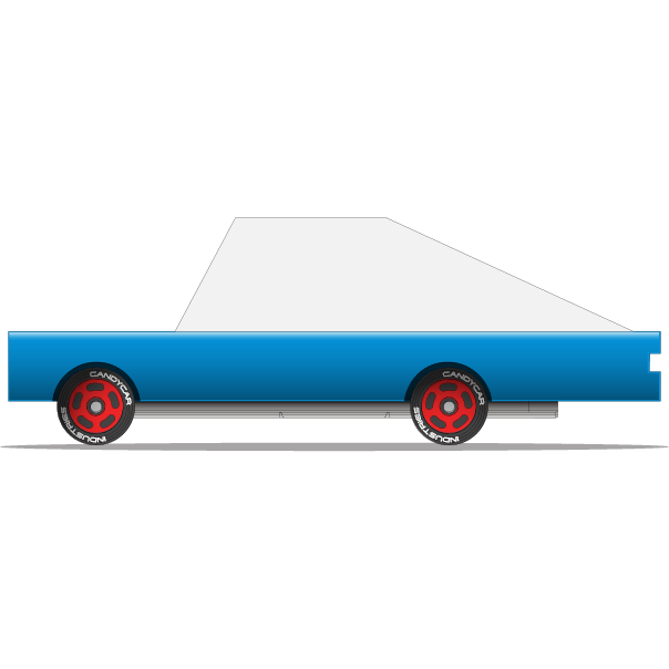 Candycar - blue racer 1 pc