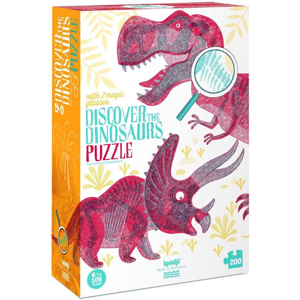 Londji - discover the dinosaurs (200 pcs) 1 set