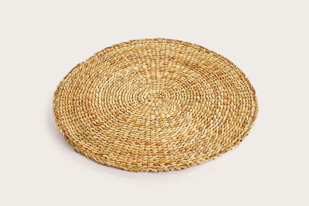 Piso de fibra vegetal de junquillo
