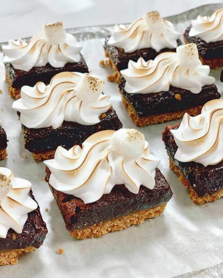 S'more brownies 1 dozen