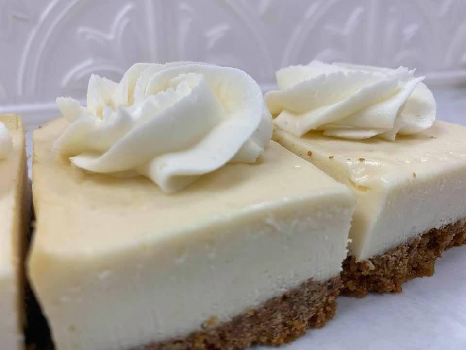 Classic cheesecake bars 1 dozen