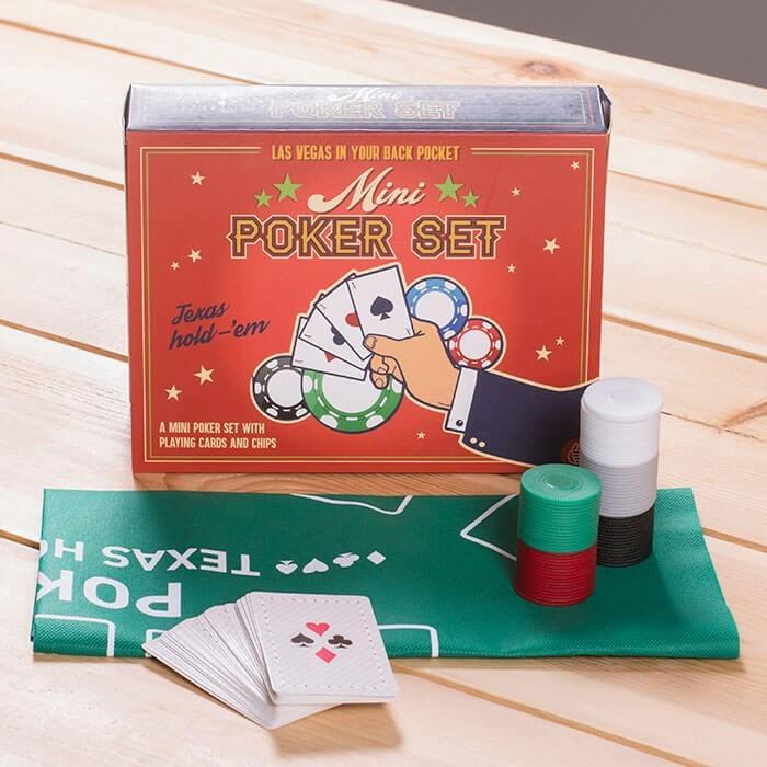 Desktop poker set