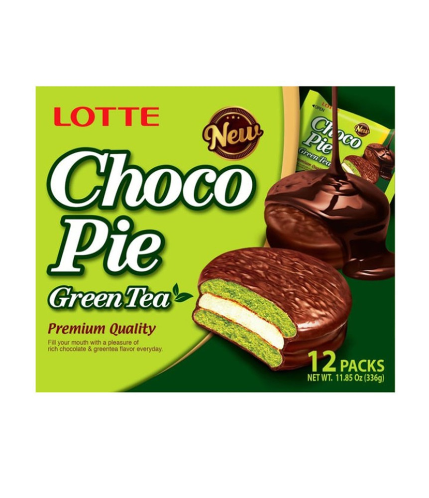 Choco pie (green tea)