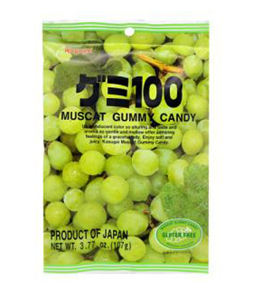 Muscat gummy candy 107g