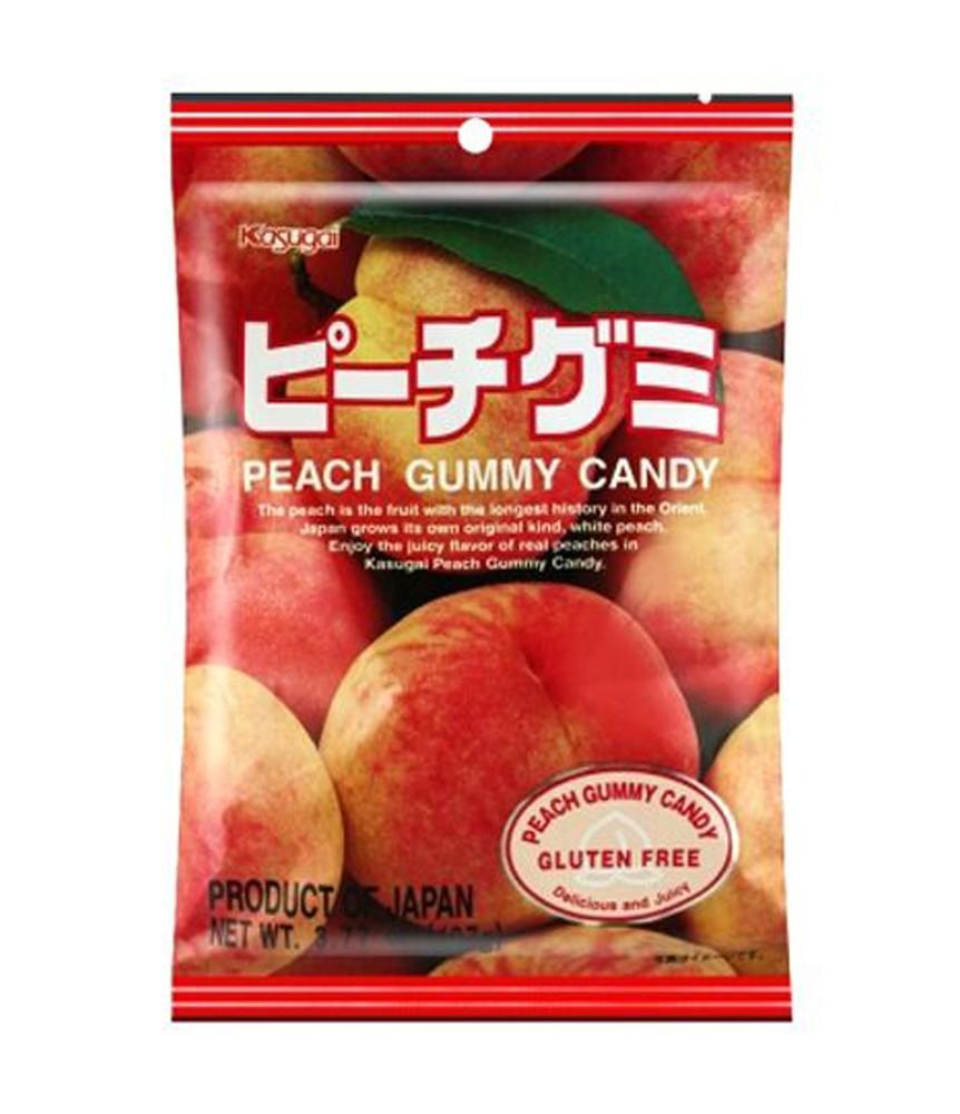 Peach gummy candy 107g